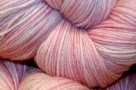 "Wüllenstudio ""And A Pink Carnation"" Sock Yarn Mini Skein"