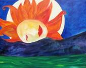 Rise -Giclee Print  by Miriam Climenhaga