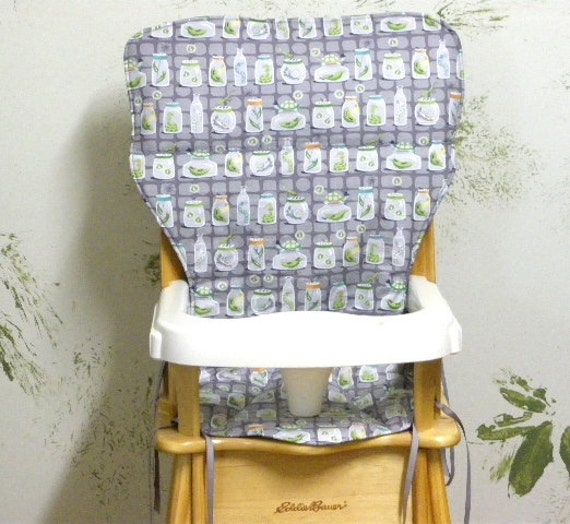 High Chair Seat Coverjenny Lind Eddie Bauer Pad Replacement