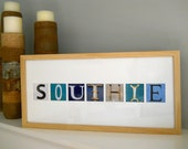 Southie Sign Collage