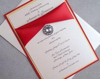 Pure Elegance Invitation Set