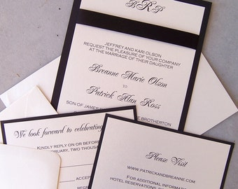 Deluxe Lux Invitation Set