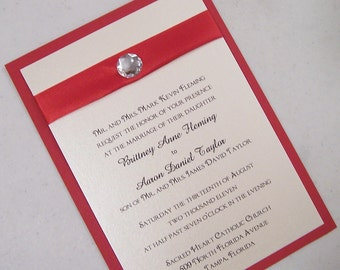 The Gem Simplicity Invitation Set