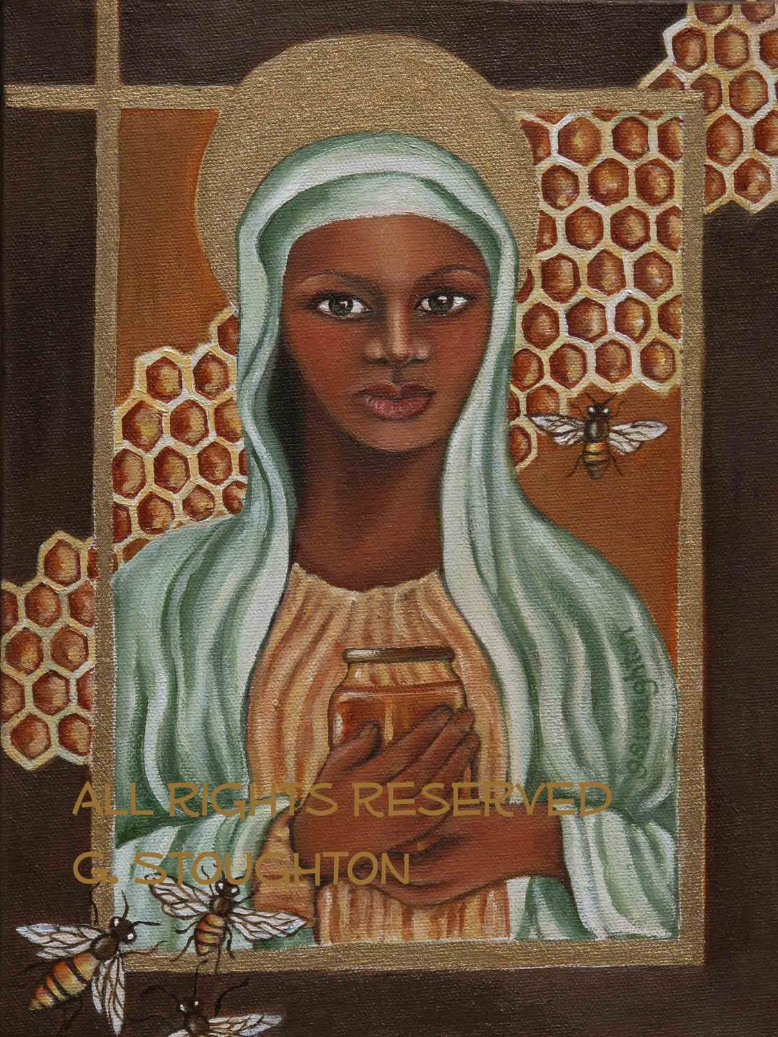 Black Madonna From The Secret Life Of Bees 8x10