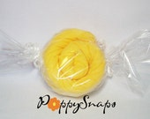 SWEET TREAT RECEIVING BLANKET - extra large solid canary yellow blanket
