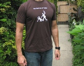 "You Had Me at ""Hello"" - men's fitted t-shirt, brown"