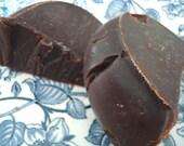 SALE 2 bars Vanilla Buttercream Cake Soap Slice Handemade COLD Process