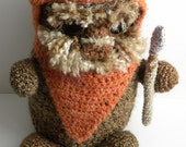 CROCHET PATTERN - Ewok Inspired Cuddle Buddy