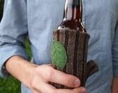 beer cozy tree branch
