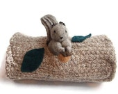 Birch bark Animal Home, waldorf toy, all natural toy, eco friendly toy