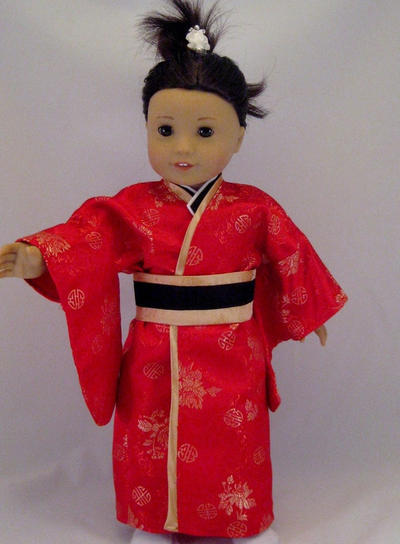 Doll Clothes Japanese Kimono Fits American By