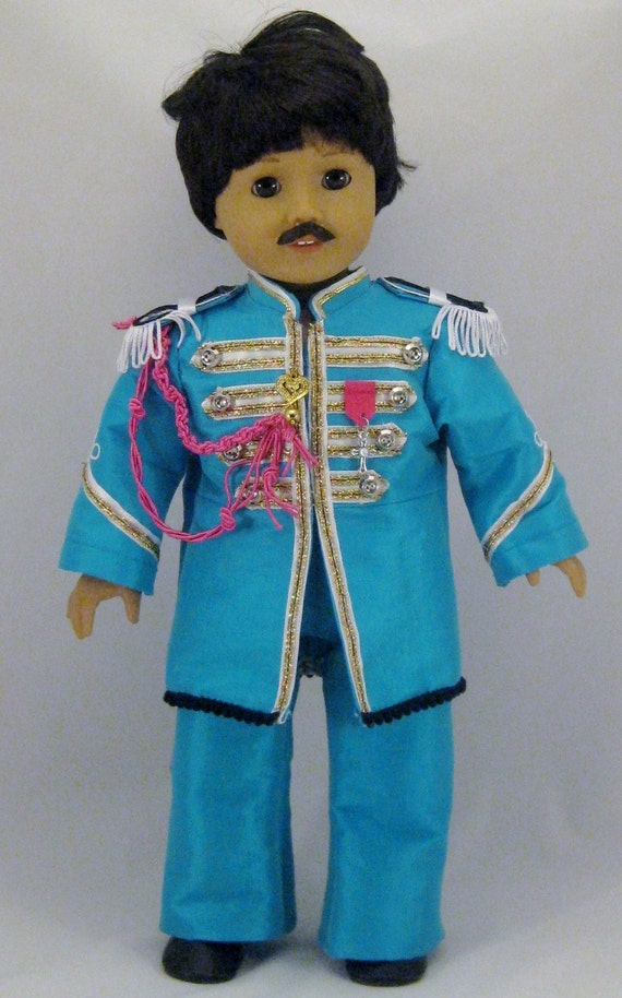 Doll Clothes Beatles Paul Mccartney Sgt Pepper Costume Fits