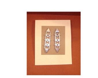 Earrings three promises