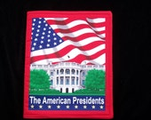 AMERICAN PRESIDENTS Soft fabric Quite  Book for Children