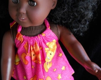 Americian Girl Halter and Shorts  18in dolls