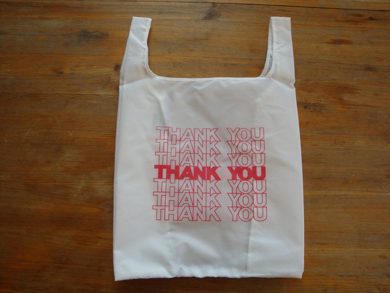 The Thank You Bag Reusable Shopping Tote