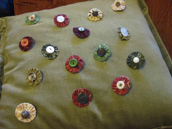 Handmade Vintage Button Pin