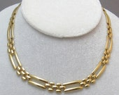 Vintage Napier Flat Choker Necklace