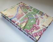 Berlin Map Coptic Stitch Travel Journal, Notebook
