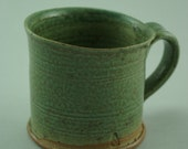 Hand Thrown Copper Glazed Mug