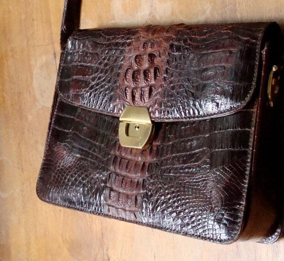 Alligator Handbag 1950s