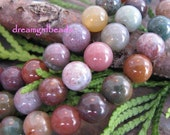 Fancy Jasper Semi Precious Round 6mm Beads
