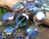 Dream Girl Designer Crystals in Aurora Borealis Blue