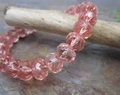 Rose Ice 9x6mm Crullers