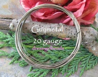 20 Gauge Gunmetal Wire Bestseller