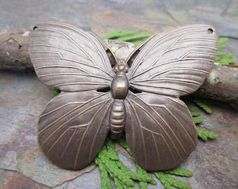 50x40 mm Lunarfly Vintaj Natural Brass Pendant 1 PC