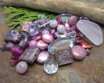 Passion for Purple Bead Sampler