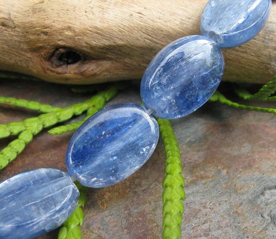 Blue Kyanite Grade AA Ovals