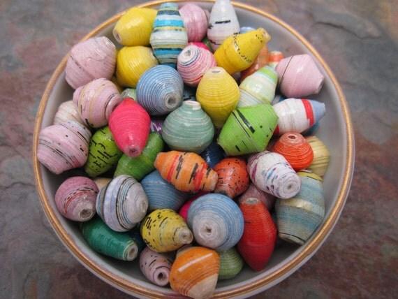 Spring Meadow Mix Ugandan Handmade Life Changing Beads