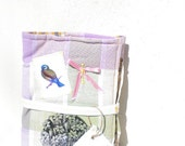 soft organizer with bird for your notebook or journal