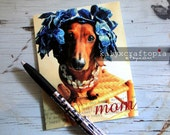 MOTHERS DAY Card Simply Stated Mom Dachshund Card