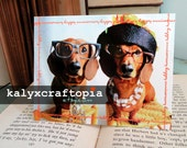 ANNIVERSARY Happy Couple Dachshund Anniversary Card