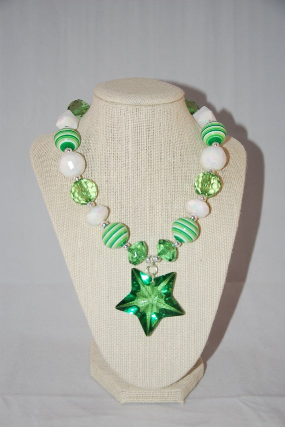 Lucky Green Star Necklace
