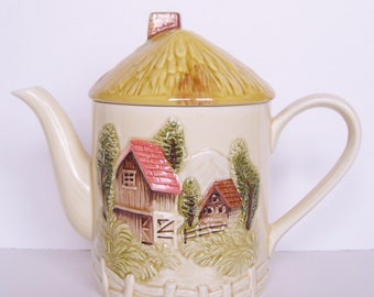 Vintage House Teapot - Made In Japan