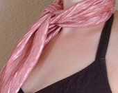 Scarf - Crinkled  Dusty Pink