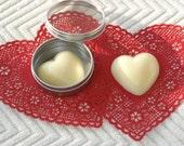 "FREE SHIPPING / Heart Shape / Shea Butter/Cocoa Butter  ""Your Scent Choice"" Body  Bar-Lotion Bar"