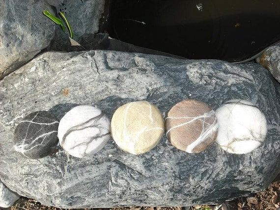 Felted Soap / Natural Stone Soap / Cold Process Soap
