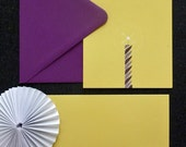 Birthday Candle - Box Set of Note Cards