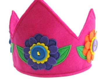 Flower Fairy Princess Crown