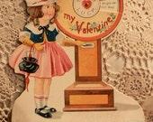 Darling Vintage Wheel of Fortune Mechanical Valentine