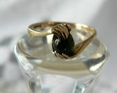 Bridal Gift Early Antique Gold Ring with Hand Motif
