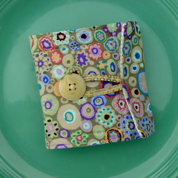 Needlebook - Cotton and Wool, Quilted,  Kaffe Fassett Fabric