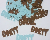 Custom Name Confetti - Please read this items details before purchasing