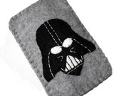 You Pick Color - Darth Vader  Inspired Gadget Case - iPhone iPod iTouch Droid HTC and more...YOU PICK the Color of the Case