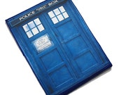 eReader Police Call Box Case - Fits Kindle 1 2 3 Touch Fire, nook, galaxy tab and other tablets by nokomomo