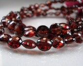Garnet Coin Beads AA-AAA Micro Faceted Gemstone Beads